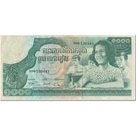 Billet, Cambodge, 1000 Riels, 1972, Undated (1972), KM:17, TTB+ - Cambodge