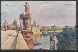 Prag,  -  Karlsbrücke - Tschechische Republik