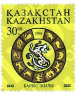 Ref. 49549 * MNH * - KAZAKHSTAN. 1998. NEW CHINESE YEAR OF THE TIGER . NUEVO AÑO CHINO DEL TIGRE - Stamps