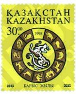 Ref. 49549 * MNH * - KAZAKHSTAN. 1998. NEW CHINESE YEAR OF THE TIGER . NUEVO AÑO CHINO DEL TIGRE - Sellos