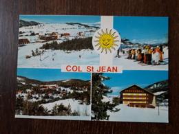 L21/1071  COL ST JEAN . Multivues - France
