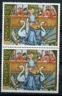 13934 FRANCE N° 2033 ** 2F Miniature Du XVé : Ceinture Bicolore + Nomal  En Paire     1979  TB/TTB - Errors & Oddities
