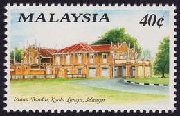MALAYSIA 1991 Historical Building 40c Istana Bandar MNH @PM039 - Malaysia (1964-...)