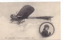 Aviation - Hanriot Sur Son Monoplan - Airmen, Fliers