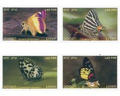 Ref. 345202 * MNH * - LAOS. 2003. BUTTERFLIES . MARIPOSAS - Laos