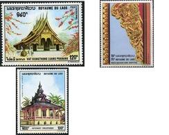 Ref. 212466 * MNH * - LAOS. 1970. PAGODAS OF LAOS . PAGODAS DE LAOS - Laos