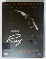 DVD EDITION COLLECTOR DOUBLE DVD RAY LA VIE EXCEPTIONNELLE DE RAY CHARLES - Séries Et Programmes TV
