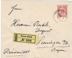 "1894, Reko "" TRIEST ""     , A2135 - 1850-1918 Empire"