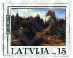 Ref. 86571 * MNH * - LATVIA. 1999. ARTE PINTURA - Arte