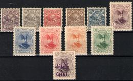 Irán Nº 199/206, 208/10, 233 - Iran