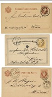 "1875 - 83 "" Laibach "" 5 Mal GA   Slovenija     , A2136 - 1850-1918 Empire"
