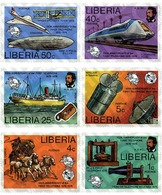 Ref. 55685 * MNH * - LIBERIA. 1976. CENTENARY OF TELEPHONE . CENTENARIO DEL TELEFONO - Liberia