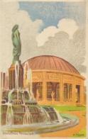 Switzerland 1914 Picture Postcard Schweiz Landes Ausstellung Official Card N. 9 Alcolfree Restaurant Posted - Esposizioni