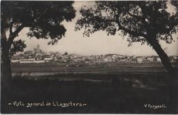 LLAGOSTERA - Carte Photo Vista General De LLAGOSTERA - Photo  V. Fargnoli. - Gerona