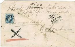 Ausg. 1867, Eilboten - Land, RR!, Mängel   , A2138 - 1850-1918 Empire