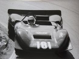 Rare!  Belle Photo Ancienne Ferrari Voiture Ancienne Tampon à L'arrière Automobile - Automobili