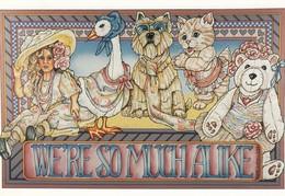 "Artist Leanne C. BOYD , 1987 : ""We're So Much Alike"" - Künstlerkarten"