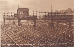 The Largest Railway Crossing In The World, Newcastle-on-tyne - Newcastle-upon-Tyne