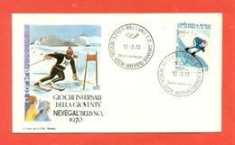 SPORT INVERNALI- ITALAI - GIOCHI INVERNALI DELLA GIOVENTU-NEVEGAL BELLUNO-1970 - 6. 1946-.. Republik