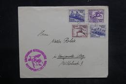 ALLEMAGNE - Enveloppe Avec Cachet Des Jeux Olympiques De 1936 , Affranchissement Jeux Olympiques, à Voir - L 36449 - Brieven En Documenten