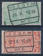 """TR 136 + 164 -  """"IZEGEM Nr 6"""" - (ref.28.168) - 1923-1941"""