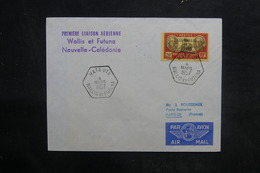 WALLIS & FUTUNA - Enveloppe 1er Vol Wallis & Futuna / Nouvelle Calédonie En 1957 - L 36451 - Covers & Documents