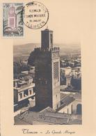Carte  Maximum   1er   Jour    FRANCE    La   Grande   Mosquée  De  TLEMCEN   1960 - Maximum Cards