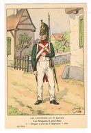 Uniforme.1er Empire. Les Dragons à Pied. 1805.  BUCQUOY.  (103) - Uniformen