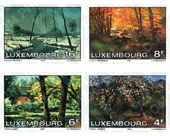 Ref. 97571 * MNH * - LUXEMBOURG. 1982. THE FOUR SEASONS . LAS CUATRO ESTACIONES - Arte