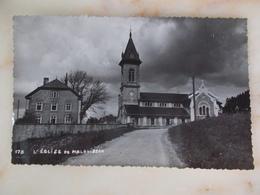 CP CARTE PHOTO DE MALBUISSON L'Eglise - France
