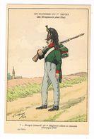 Uniforme.1er Empire. Les Dragons à Pied.. 1806.  BUCQUOY.  (107) - Uniformen