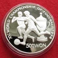 Korea North 500 Won 1994 Soccer Football World Cup USA 94 - Korea (Nord-)