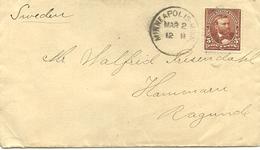 USA 1912 Cover , Cancelled Minneapolis Mar2 12 - Verenigde Staten