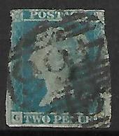 GRANDE - BRETAGNE   -   1841.   Y&T N° 4 Oblitéré - 1840-1901 (Victoria)