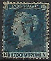 GRANDE - BRETAGNE   -   1855.   Y&T N° 15 Oblitéré - 1840-1901 (Viktoria)