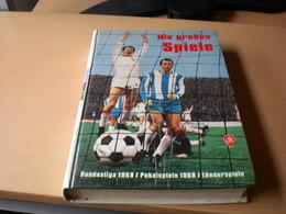Die Grosen Spiele Bundesliga 1969  152 Pages - Books