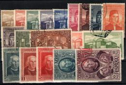 España Nº 547/65. Año 1930 - Used Stamps
