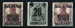 Sarre Nº 50/2 Usado Cat.44€ - 1920-35 Sociedad De Naciones