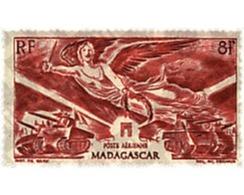 Ref. 344746 * HINGED * - MADAGASCAR. 1946. ANNIVERSARY OF  VICTORY . ANIVERSARIO DE LA VICTORIA - Ongebruikt