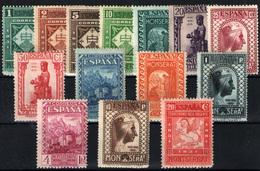 España Nº 636/49. Año 1931 - 1931-50 Unused Stamps