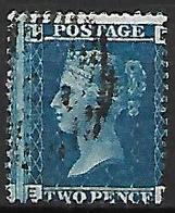 GRANDE - BRETAGNE   -   1858.   Y&T N° 27 Oblitéré.   Planche 9 - 1840-1901 (Viktoria)