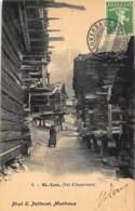 SAINT LUC Val D'Anniviers (VS) - Intérieur Du Village - Ed. Potterat 6. - VS Wallis