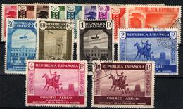 España Nº 711/25. Año 1936 - 1931-50 Nuevos & Fijasellos