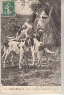 """Musée SAINT DIZIER """" Au Chat! Par Mile  M.D.Calves - Paintings"""