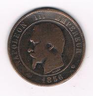 10 CENTIMES  1856 M FRANKRIJK /5646/ - France