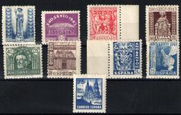 España Nº 961/69. Año 1943/44 - 1931-50 Nuevos & Fijasellos