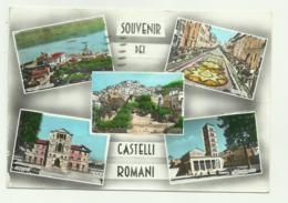 SOUVENIR DEI CASTELLI ROMANI - VEDUTE - VIAGGIATA FG - Autres