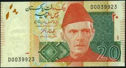 PAKISTAN - 20 Rupees 2007 UNC P.55 A - Pakistan