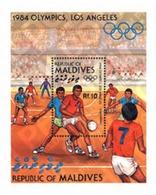 Ref. 31639 * MNH * - MALDIVES. 1984. GAMES OF THE XXIII OLYMPIAD. LOS ANGELES 1984 . 23 JUEGOS OLIMPICOS VERANO LOS ANGE - Hand-Ball