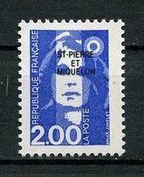 SPM MIQUELON 1994 N° 605 ** Neuf MNH Superbe C 1.20 € Marianne Du Bicentenaire - St.Pedro Y Miquelon